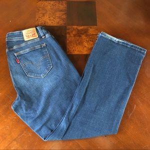 Levi's 529 curvy boot cut jeans size 10
